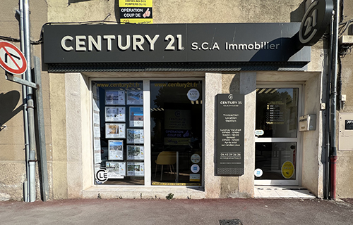 Agence immobilière CENTURY 21 S.C.A. Immobilier, 13530 TRETS